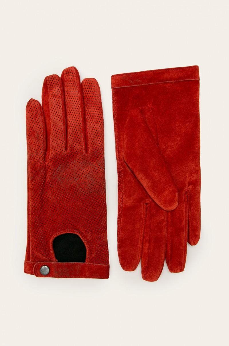 Handschuhe mit Druckknopf