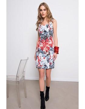 Kleid mit stylischem Print
