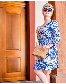 Baumwollkleid, Sommerkleid, Sommerprint