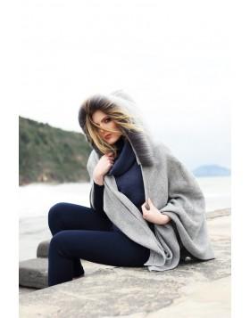 Rollkragenpullover aus reine Wolle