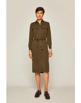 Kleid im Military-Style
